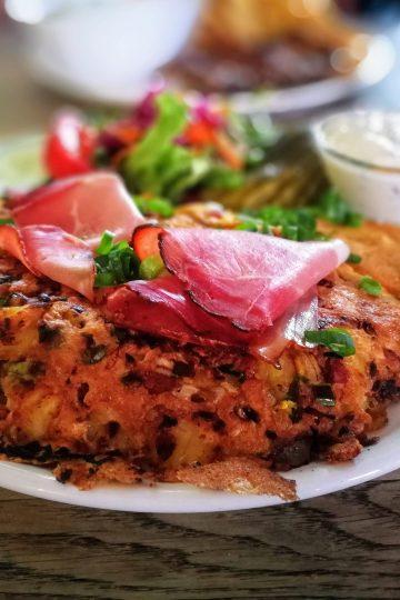 Omelette Feldstern Restaurant Hamburg