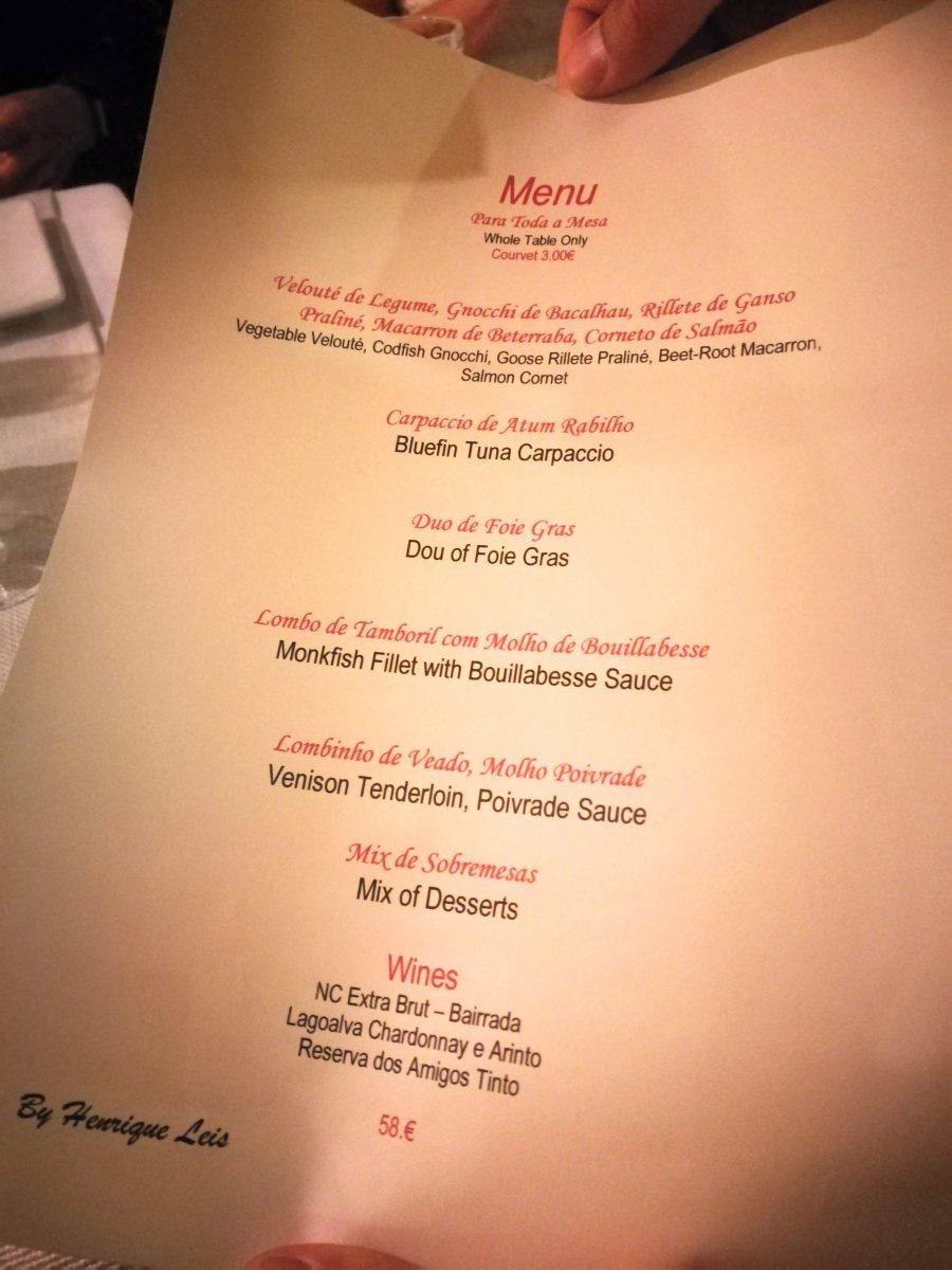 Henrique Leis Michelin Star Restaurant Almancil Portugal